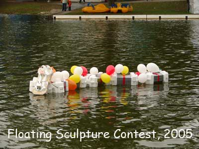 Floating Sculpture Contest, 2005